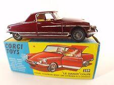 Corgi Toys 259 Chapron Le Dandy coupé Citroën DS 19 en boite