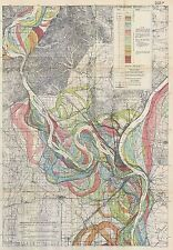 Mississippi River Meander Belt 1944 Fisk Ancient Bed Alluvial Valley SH 1