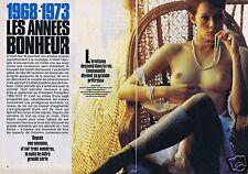 Coupure de presse Clipping 1984 L'erotisme  dans la rue (4 pag) Sylvia Kristel