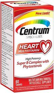 Centrum Specialist Heart Multivitamin/Multimineral Supplement with Super B...