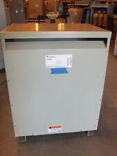 GE 112.5kva transformer 480v-208v/120v 3 PHASE DELTA WYE 460v 440v 220v nd-1833