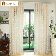 NAPEARL 1 Panel European Luxury Curtains Bedroom Drapes Jacquard Home Decoration