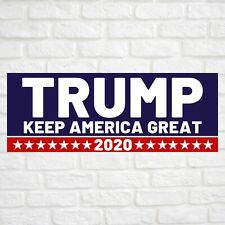 Trump Keep America Great 2020 Vinyl Banner Flag Sign Many Sizes Available Usa