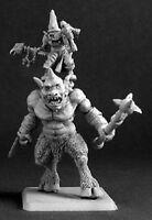 Dark Heaven Warlord Reaper 14396 Reven Cyclops and Goblin Mage