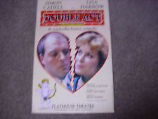 DOUBLE ACT  Simon CADELL & Lisa HARROW  Original PLAYHOUSE Theatre Poster