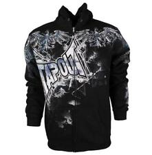 BNWT TAPOUT MENS RISEN BLACK HOODIE UFC MMA S SMALL
