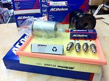 Vauxhall VECTRA C PETROL SERVICE KIT 1.6 1.8 2.2 OIL/AIR/FUEL FILTER SPARK PLUGS