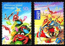 2008 Christmas Island Christmas  MUH Complete Set
