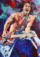 Eddie Van Halen fine art print by Robert Hurst A Damn Fine Artist