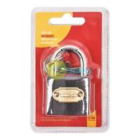 38mm Heavy Duty Iron Padlock Outdoor Safety Security Shackle Lock