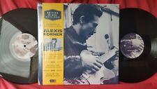 "Alexis Korner ""British Blues Master Works"" 2-LP, +CD 180-gram 2014 gatefold U.K."