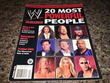 WWE MAGAZINE 20 MOST POWERFUL PEOPLE DECEMBER 2003 WRESTLING SUPERSTARS