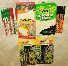 New ListingVintage Bic Pens-Christmas, Halloween Treats, Monsters Wavelengths
