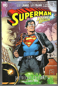Superman Secret Origin Deluxe Edition oversize HC, Geoff Johns, Gary Frank