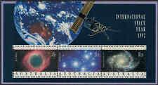 1992 AUSTRALIA INTERNATIONAL SPACE YEAR M/S MNH