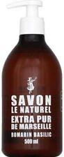 Savon le Naturel Savon extra pur de Marseille romarin basilic - Le flacon de 500