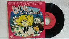 45T Générique Lydie et la Clé Magique Claude Lombard LP Ades Tour du Monde de 5