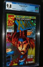 UNCANNY X-MEN #350 Prism Foil Cover 1997 Marvel Comics CGC 9.8 NM/MT WHITE PAGES