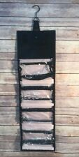 Mary Kay Travel Roll Up Bag Cosmetic Organizer Black Hanging Removable Pouches