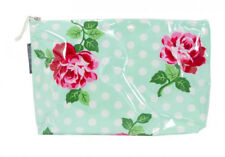NEW Cosmetic Beauty Makeup Storage Toiletry Travel Bag Red Roses