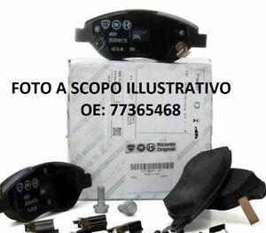 PASTIGLIE FRENI ANTERIORI 77365468 EX 77365113 ORIGINALI FIAT ABARTH PUNTO EVO