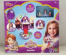 Disney Sofia The First Amulet Playset with light & sound necklace 3 mini figures