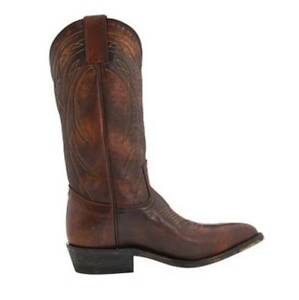 Women's Frye BILLY PULL ON 77689 Cowboy Boots Vintage Leather Dark Brown US 10