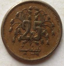 Pakistan 25 Piasa 1977 coin