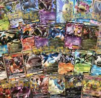 2 EX/GX GUARANTEED POKEMON CARD LOT 100 AUTHENTIC CARDS - RARES & HOLOS! TCG