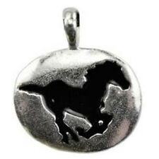 """Horse Animal Spirit Guide Pendant NEW 1"""" Pewter Totem Amulet w/ Cord - US MADE!"""