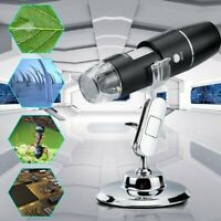 Handheld 1.3MP USB Camera with LED Illumination 20X-200X Magnification Range and Included Software National Optical /& Scientific Instrument Inc S01-0803