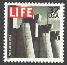 US. 3185c. 32c. 1st Issue of Life Magazine, 1936. Celebrate The Century. 1998