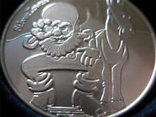 1-OZ.999 SILVER COIN SILVERTOWN CUTE PROSPECTOR AND MULE BULLION & BARTER + GOLD