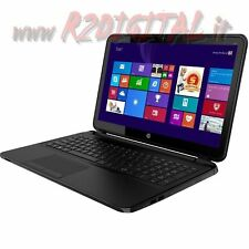 NOTEBOOK HP 250 K3W92EA LED HD 15,6 POLLICI DUAL CORE 4Gb RAM 500Gb HARD DISK