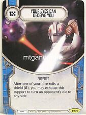 Star Wars Destiny - 1x #107 Your Eyes Can deceive you-Spirit of ribellione