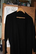 Paul Costelloe Black Label Men's  Women's Cashmere Sweater Wrap Sweater Size L