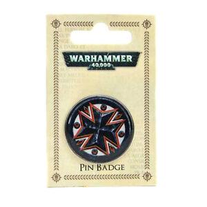 Warhammer 40K Black Templars Enamel Pin Badge (official merch)