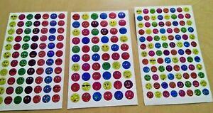 Children's Reward Stickers Chart Kids Teacher Aid School Potty training emoji