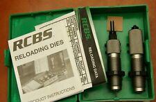 Rcbs Fl 7mm Rem Mag Neck Die Set 13602, Instructions, Data Sheet, Exc Condition
