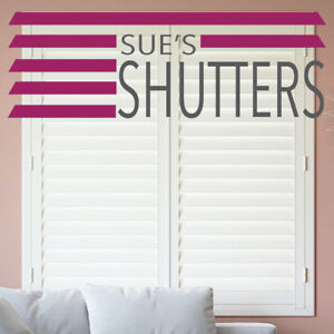 ORDER SAMPLE - PLANTATION SHUTTER BLINDS-SIMPLY WHITE (fast delivery on orders)