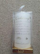 Wedding candle gift