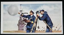 Royal Navy Aircraft Carrier   Meteorological Balloon   Vintage Picture Card  VGC