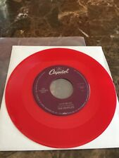 "The Beatles  RARE 1992 "" LOVE ME DO  ""  RED VINYL-JUKE BOX ONLY 45  NEW"