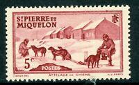 French St Pierre Miquelon 5¢ Dog Team Commem MNH R613 ⭐⭐⭐⭐⭐