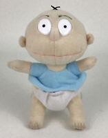 "Rugrats Angelica Stuffed Plush Doll 13/"" Vinyl Head 1993 Vintage Nickelodeon"