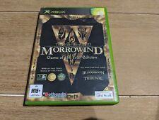 The Elder Scrolls III Morrowind Game Of The Year Edition (Microsoft XBOX) GOTY