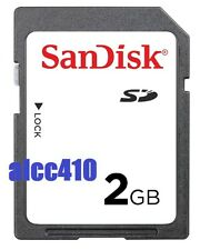 Sandisk 2GB Secure Digital Card 2 GB 2 G SD Memory card in Sydney Genuine