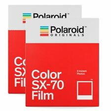 2 Pack: Impossible PX70 Cool Colour Shade Instant Film for Polaroid SX70 Camera