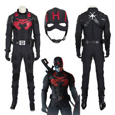 Captain America Steve Rodgers Hydra Cosplay Costume