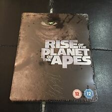 Rise of the Planet of the Apes Blu-ray Steelbook   UK exclusive   NEW sealed